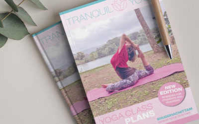 YOGA CLASS PLANS – E-Book new Edition to download